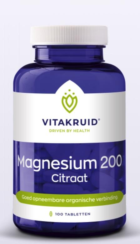 Magnesium Citraat 200